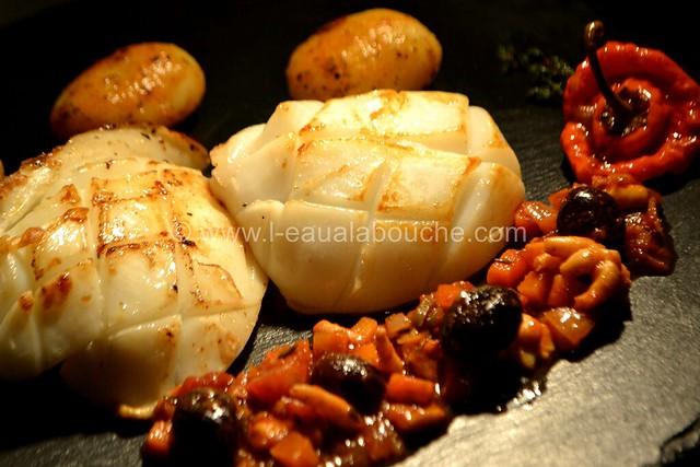 Seiches à la Plancha Sauce Piquante aux Olives Noires © Ana Luthi Tous droits réservés 41