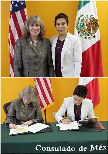 Memorándum de Entendimiento entre la Universidad Autónoma de Querétaro y la Universidad Estatal Fort Hays