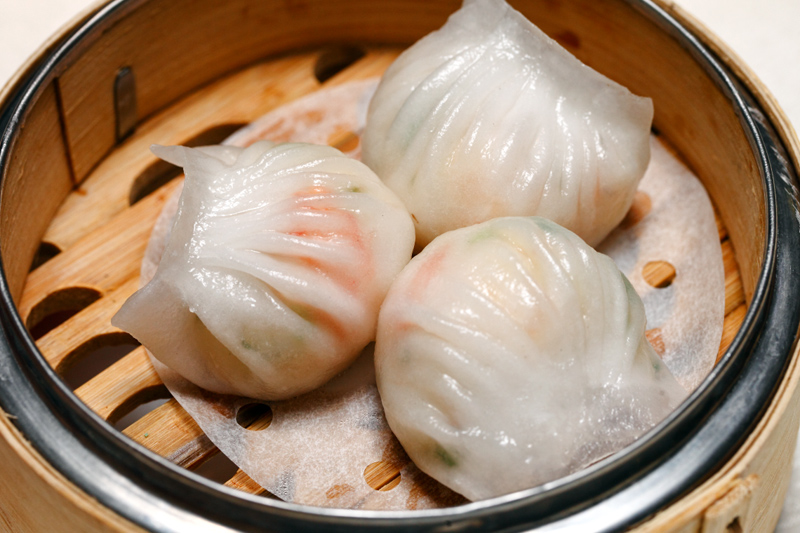 Steamed Crystal Prawn Dumpling