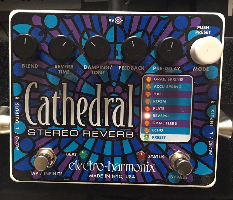 Justin Lockey - Cathedral Electro Harmonix