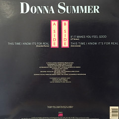 DONNA SUMMER:THIS TIME I KNOW IT'S FOR REAL(JACKET B)