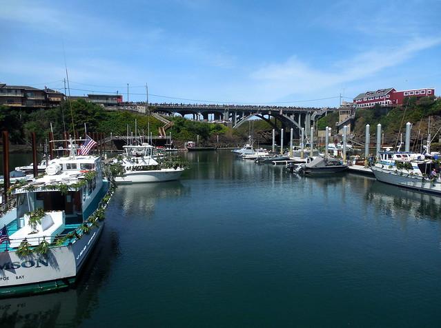 World's smallest harbor?