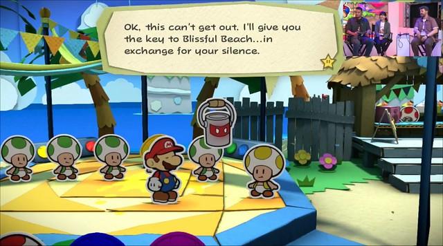 Paper Mario Shufflegate
