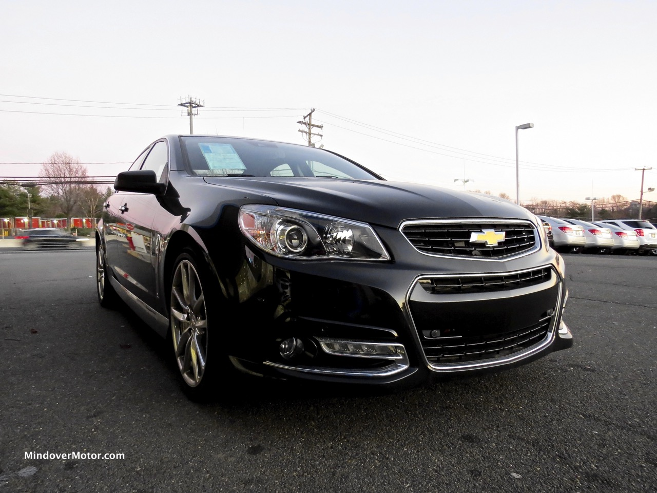 2014 Chevrolet SS Front 1