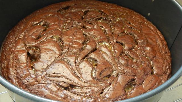 Half-Baked Turtle Cheesecake 9