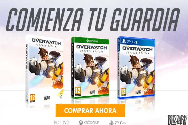 Overwatch ya está disponible en consolas y PC