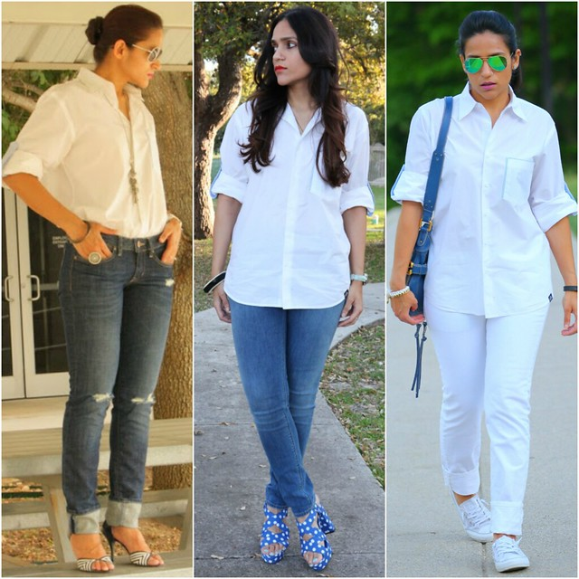 10_Three Ways To Style A White Oxford Shirt Tanvii.com