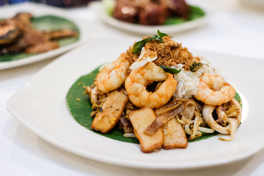 Penang Culture: Premium Crab Meat & Salted Egg Fried Kway Teow