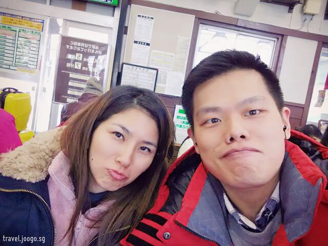 JR train in Hokkaido - travel.joogo.sg