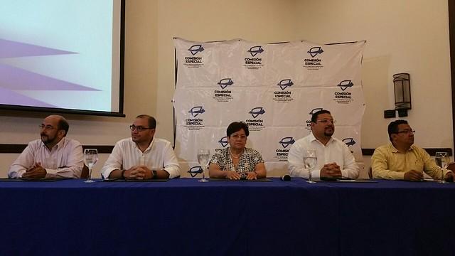Presentación de Honduras Denuncia en San Pedro Sula