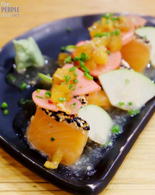 Salmon Tataki (P195)