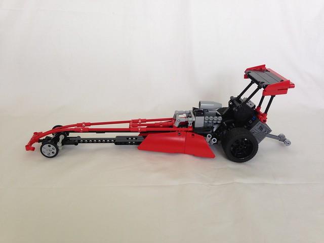 Moc Top Fuel Dragster Lego Technic Mindstorms Model