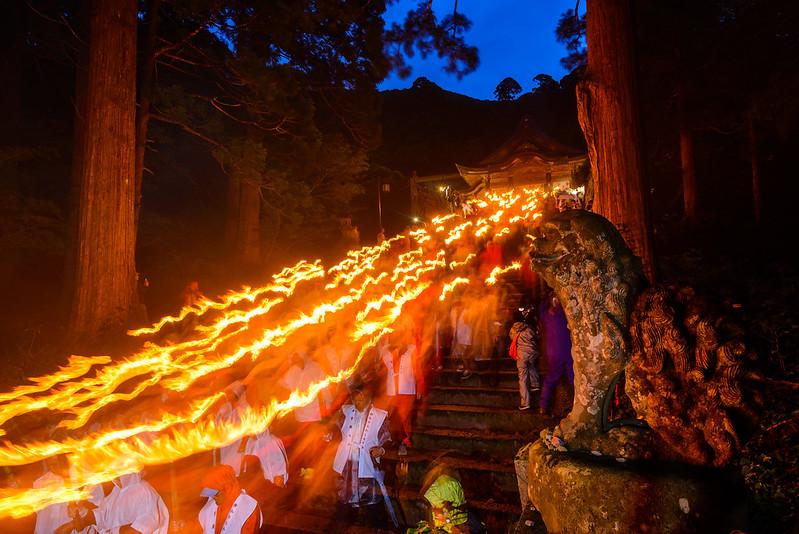 大山夏山開き祭 2016.6-6