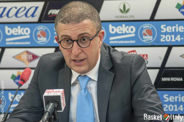 Upea Capo D'Orlando, Coach Giulio Griccioli