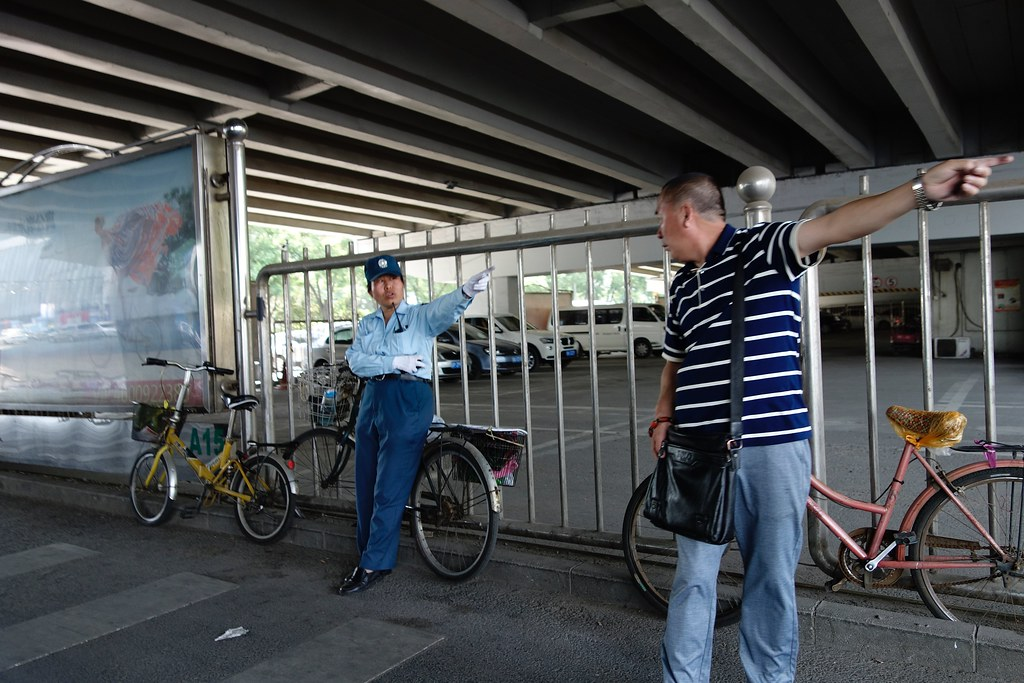 Getting Directions, Beijing, May 17, 2016