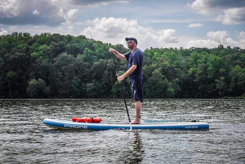 Kayaking and SUP on Saluda Lake-38
