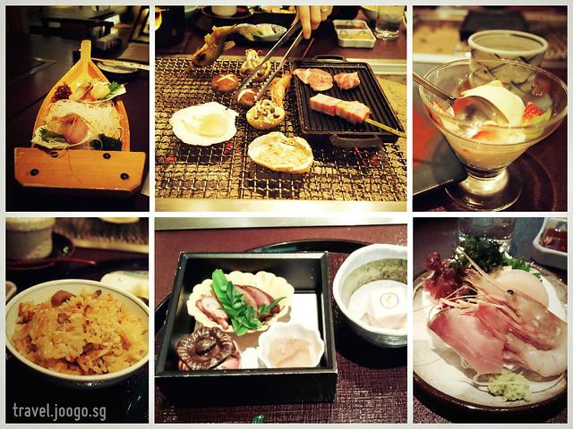 Takinoya Bekkan Tamanoyu Noboribetsu Dinner 2 - travel.joogo.sg
