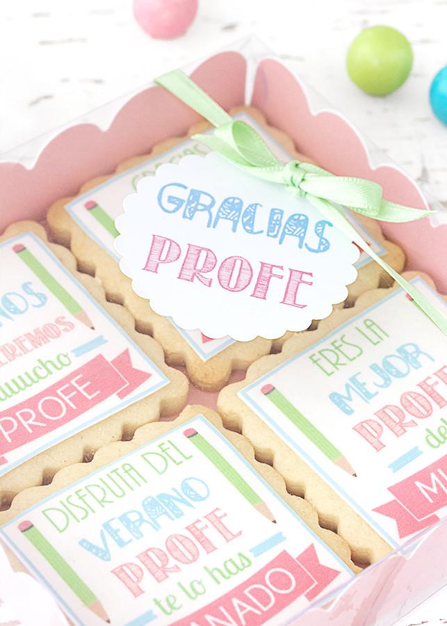 galletas con papel de azucar