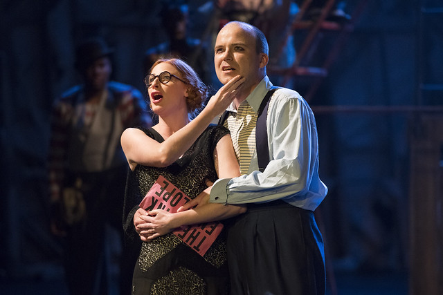 ROSALIE CRAIG (Polly Peachum) and RORY KINNEAR ( Macheath)    Photo credit:  Richard H Smith