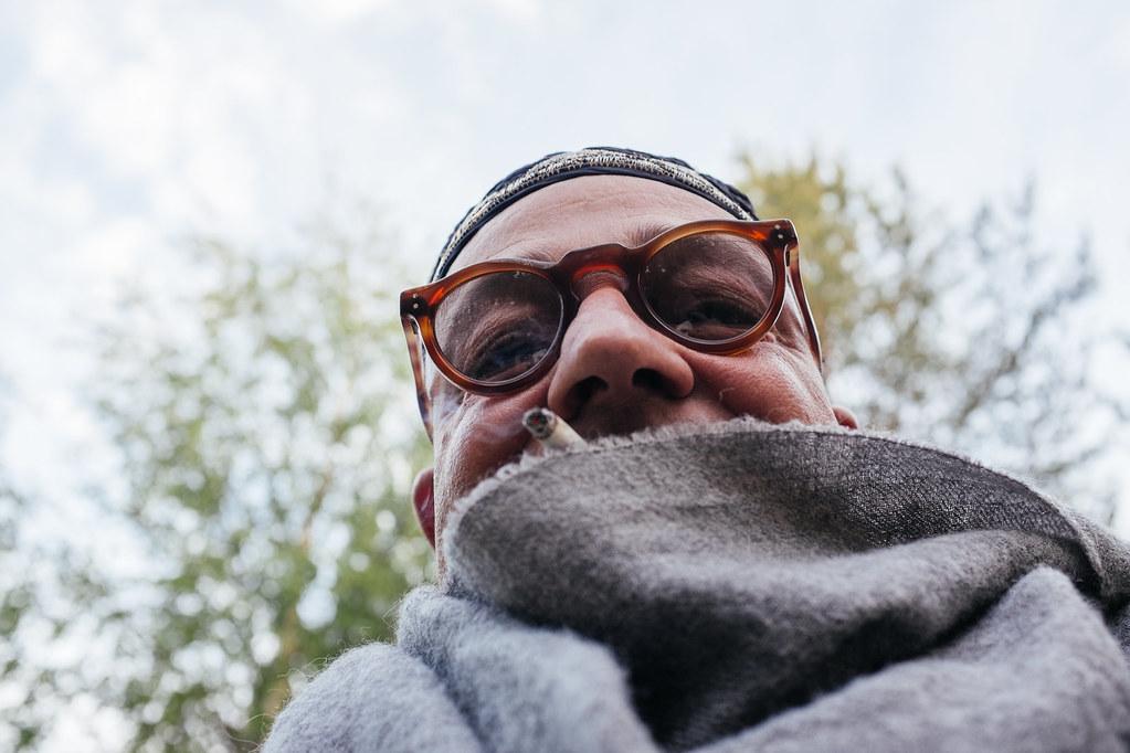 Director Gianfranco Rosi. Photo: Antti Yrjönen for Midnight Sun Film Festival 2016