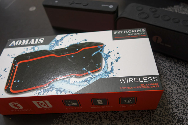 Bluetooth スピーカー AOMAIS IPX7