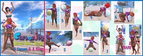 [Curvosity]  - Beach Ball Blast Gacha