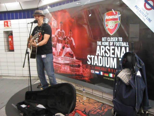 Londra Metrosunda Müzik
