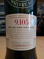 SMWS 9.105 - Soft, easy, sweet and attractive