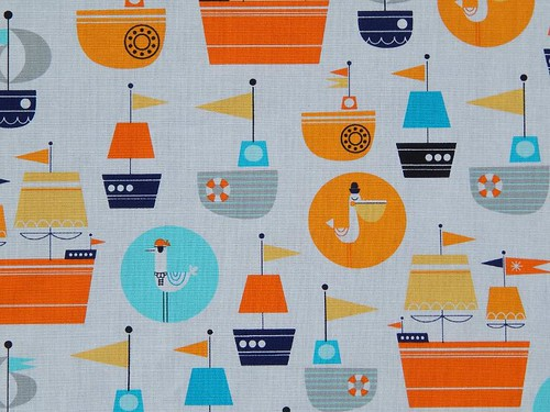 Pirate-y lining fabric