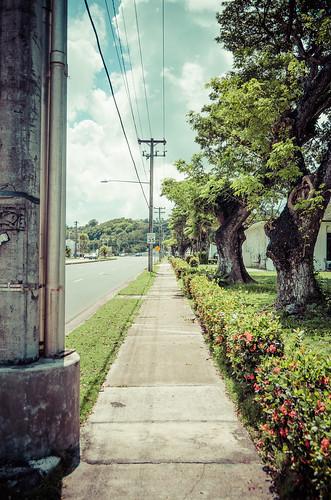 Street in Guam 1