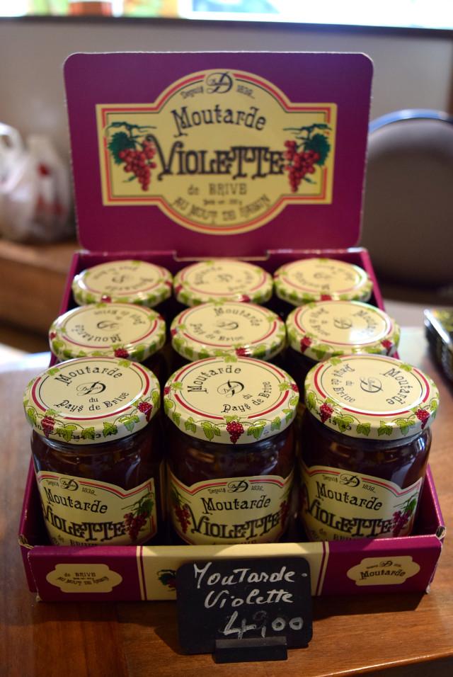 Moutarde Violette de Brive | www.rachelphipps.com @rachelphipps