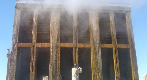 Système de refroidissement des eaux géothermales (BY-ND/GIZ)