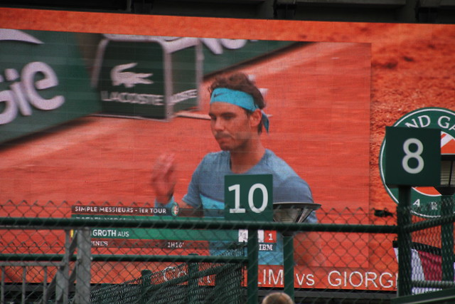 Rafa on the big screen