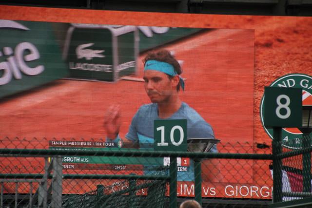 Rafa on the big screen