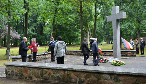 Памятное мероприятие на Лесном кладбище в г.Советске
