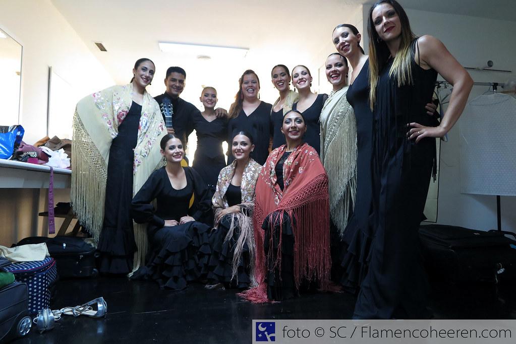 Certamen Coreográfico Madrid 2016. Eclosión con Luisa Palicio y @FlamencoHeeren