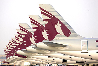 Qatar Airways A320 tail (Qatar Airways)