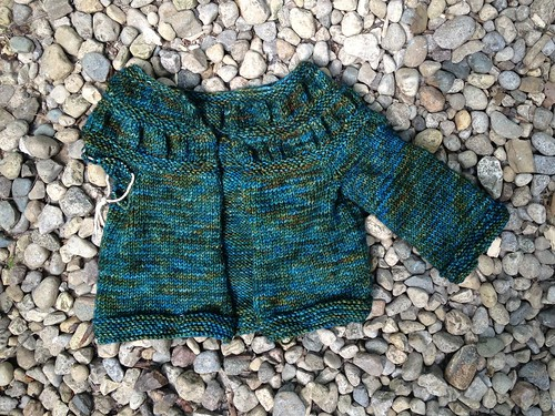 Tea Leaves Cardigan for Esther