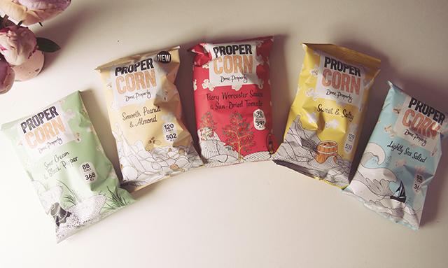 Propercorn flavours