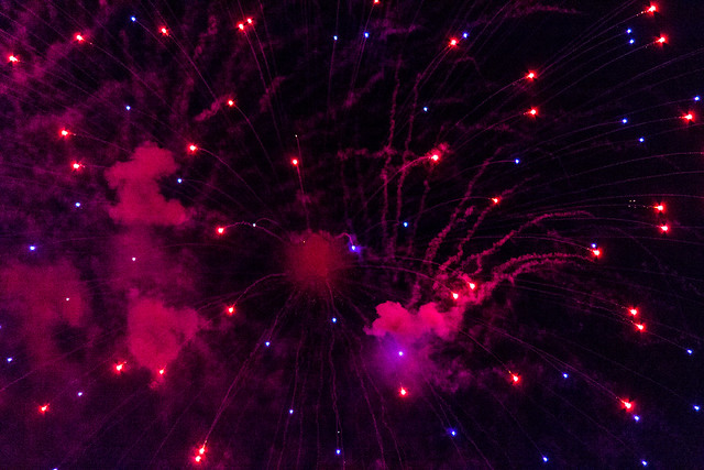 Firework Close Up