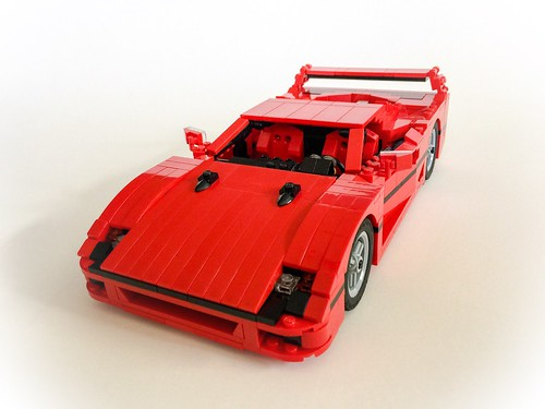 ferrari f40 this is my third redesign on this model and i flickr. Black Bedroom Furniture Sets. Home Design Ideas