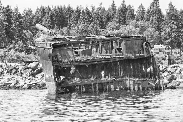 The Royston Wrecks - black and white