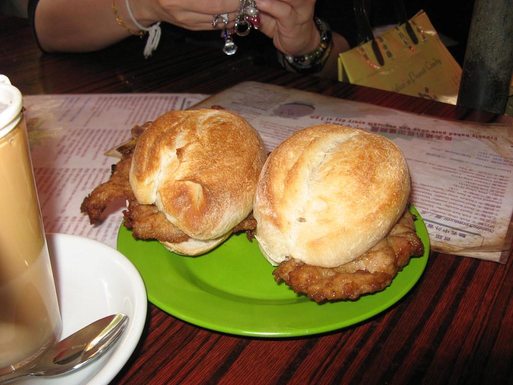 2.Pork Chop Bun