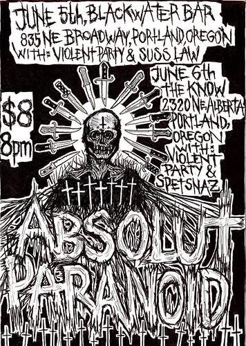 6/5+6/16 Absolut/Paranoid