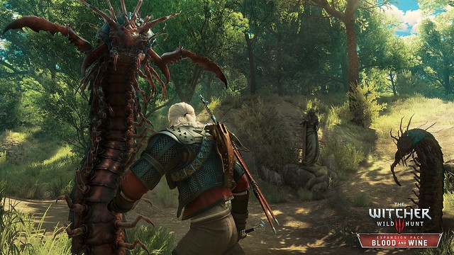 The Witcher 3: Blood and Wine (PS4)