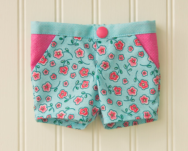 Doll Days camp shorts