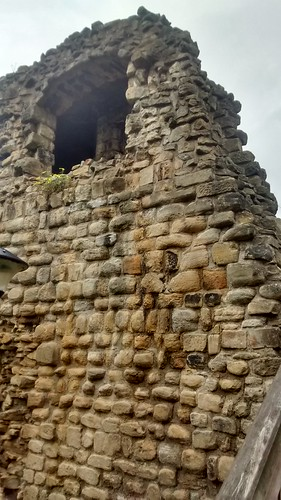Newcastle town wall Corner Tower May 16 (3)