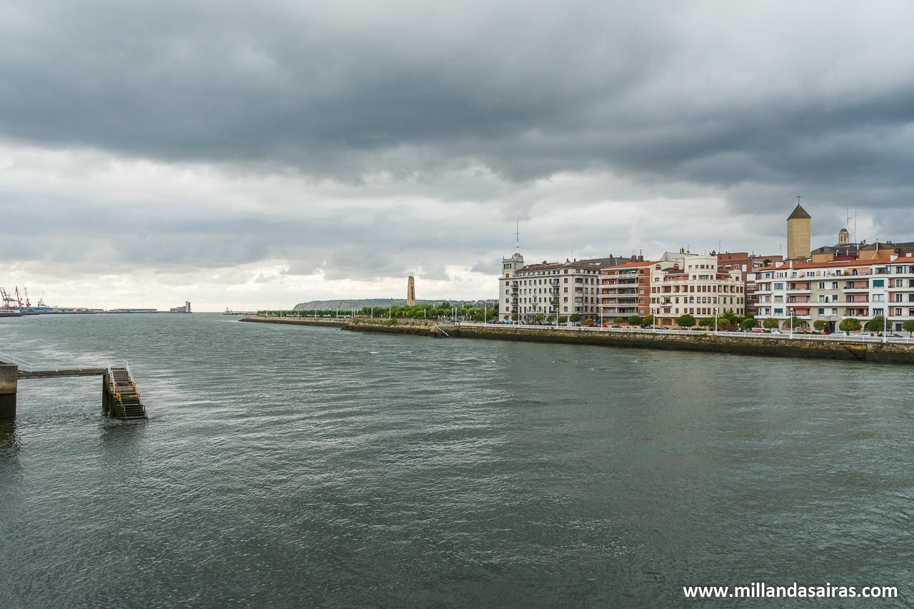 Desembocadura del río Nervión