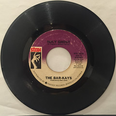 THE BAR-KAYS:HOLY GHOST(RECORD SIDE-A)