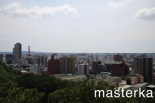 久保田城からの景色